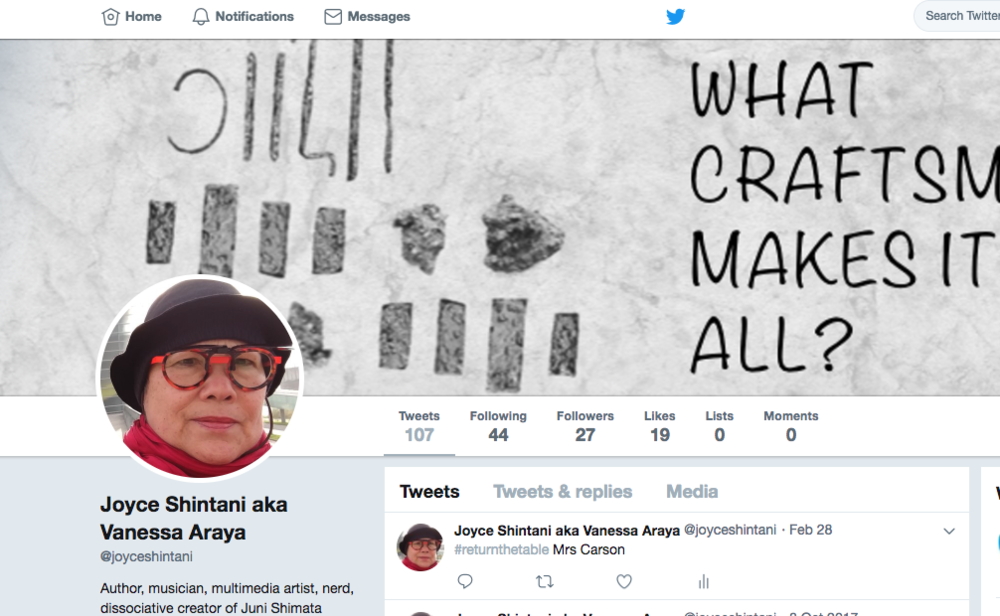 - My Twitter, re-loaded