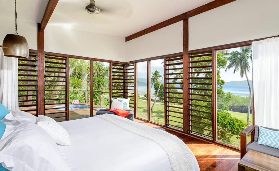 Remote Resort Fiji Islands - Oceanfront Pool Villa - Luxury interior