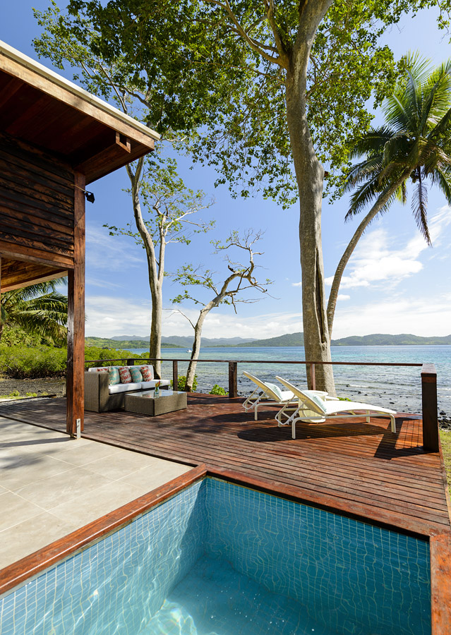 Remote Resort - Fiji family vacation villa