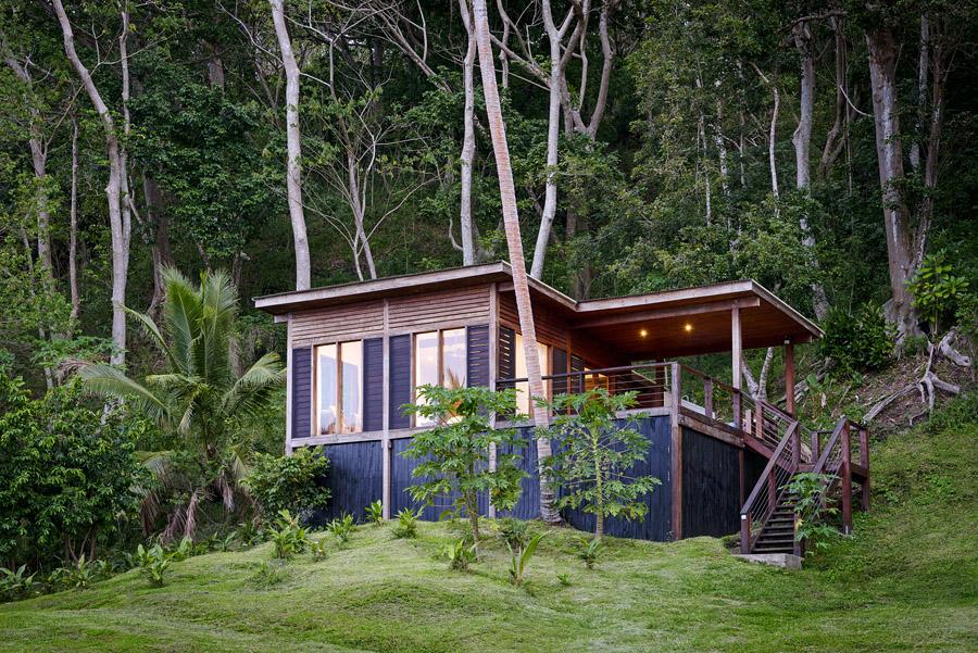 Remote Resort Fiji Islands - modern-rustic luxury lodging