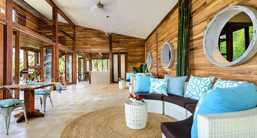 Remote Resort, Fiji Islands - Main Pavilion Restaurant and Lounge