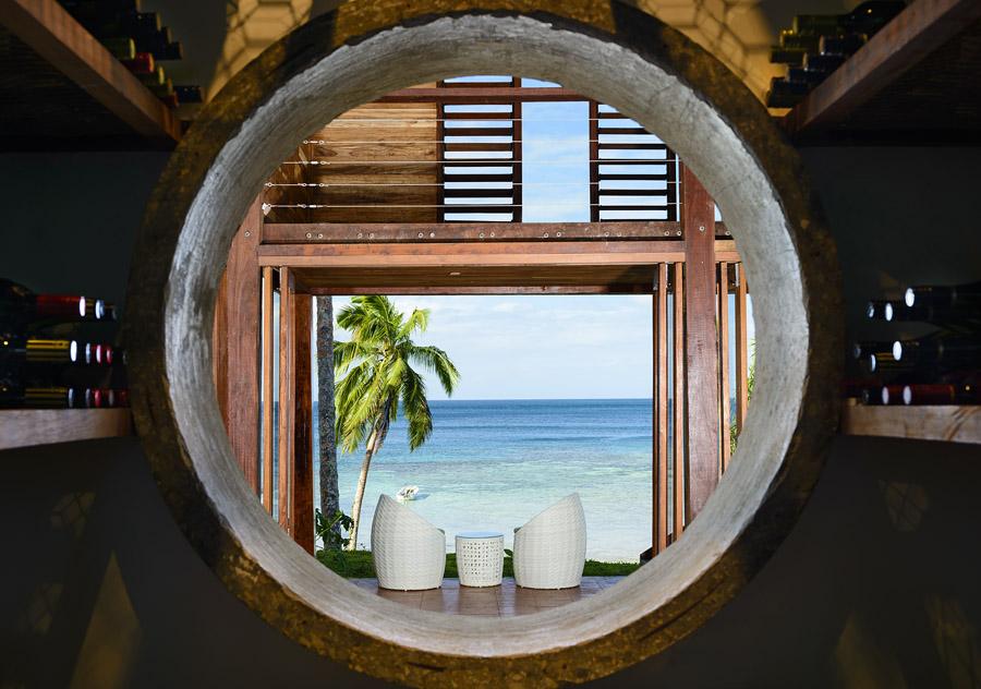 Remote Resort Fiji Islands - Restaurant views