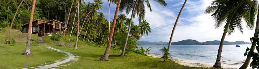 Remote Resort Fiji Islands - Panoramic Ocean Views