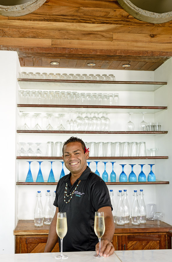 Remote Resort Fiji Islands - Bartender Patrick