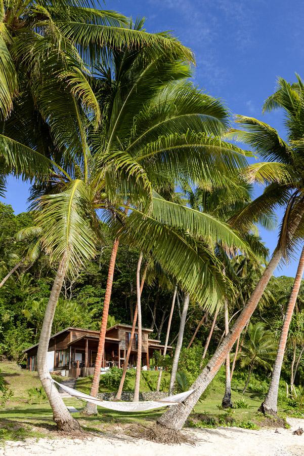 Remote Resort Fiji Islands - Beachfront Hammock