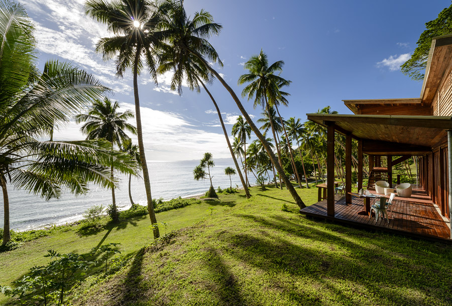 Remote Resort Fiji Islands - Beachfront Views from the Main Pavilion