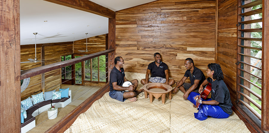 Remote Resort - Kava ceremony and sing-song
