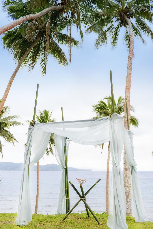 Remote Resort Fiji Islands - a Fiji beach wedding in tropical paradise