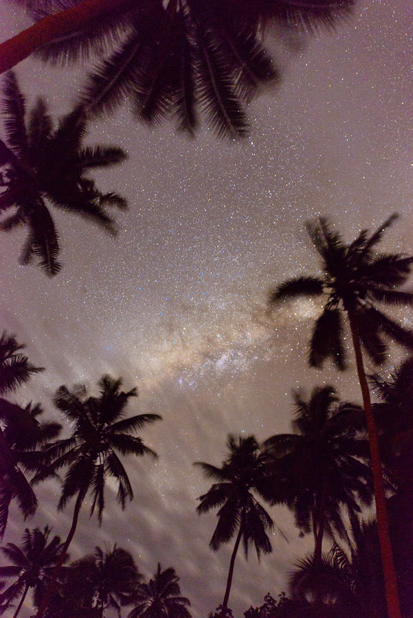 Remote Resort Fiji Islands - Starry night