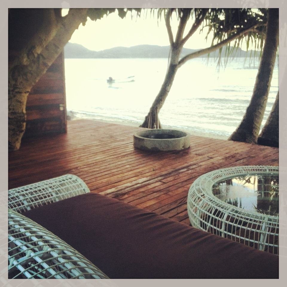 The Firepit Deck at The Remote Resort, Fiji ISlands