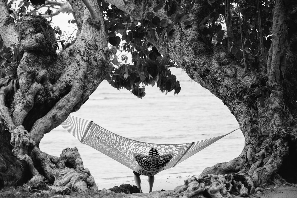 Hammock time at The Remote Resort Fiji Islands
