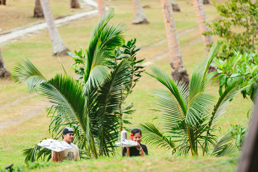 Villa Service at The Remote Resort Fiji Islands