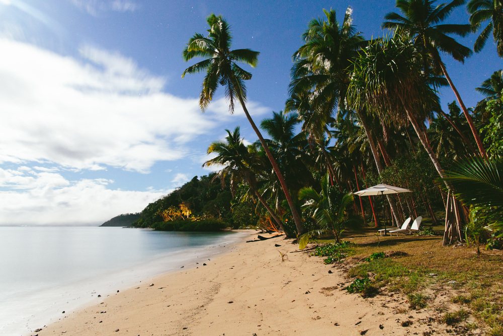 Main Beach at The Remote Resort Fiji Islands