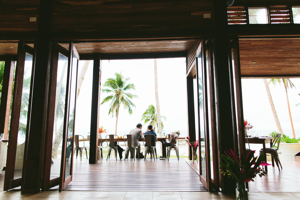 Dining - Main Pavilion - The Remote Resort, Fiji Islands