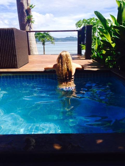 Fiji Resort Plunge Pools