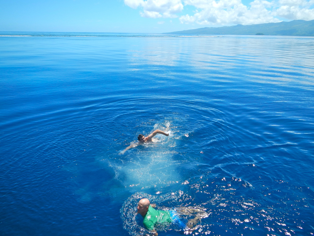 Somosomo Strait between Vanua Levu and Taveuni
