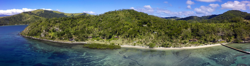 Aerial - The Remote Resort Fiji Islands