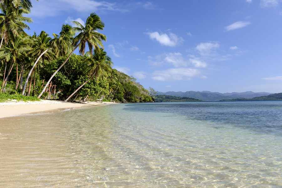 Beach at The Remote Resort, Fiji Islands