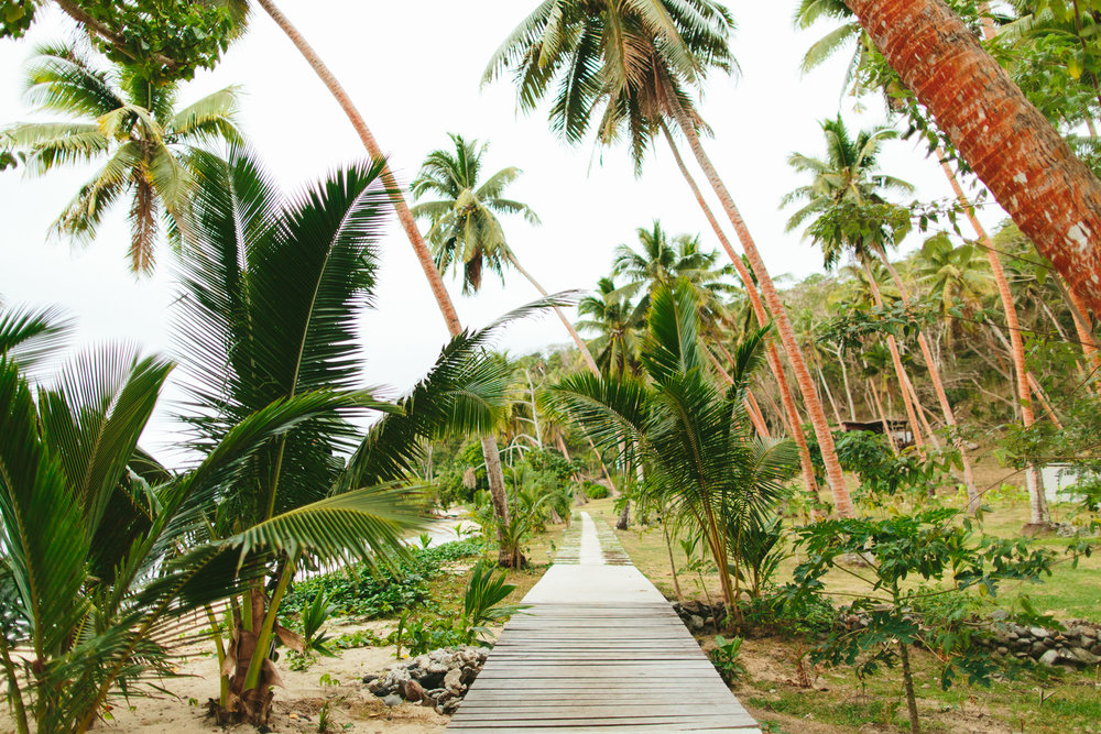 Pathway from Main Pavilion to Villas - The Remote Resort, Fiji Islands