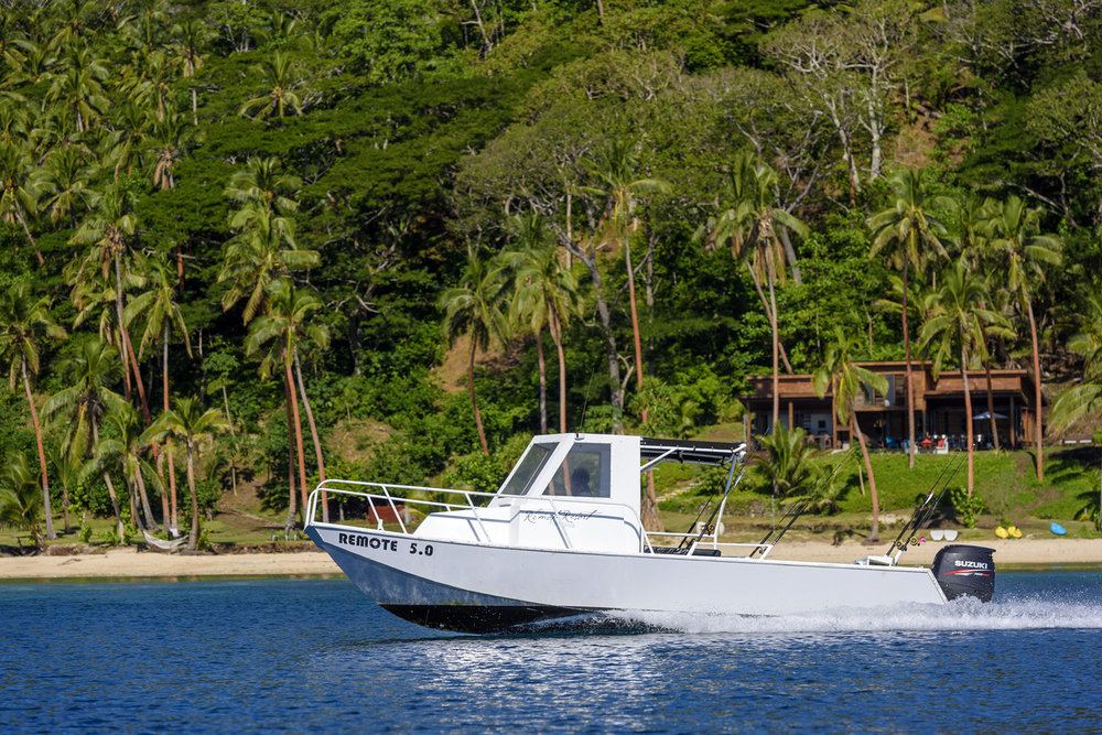Boat transfers Taveuni or Natuvu - The Remote Resort, Fiji Islands