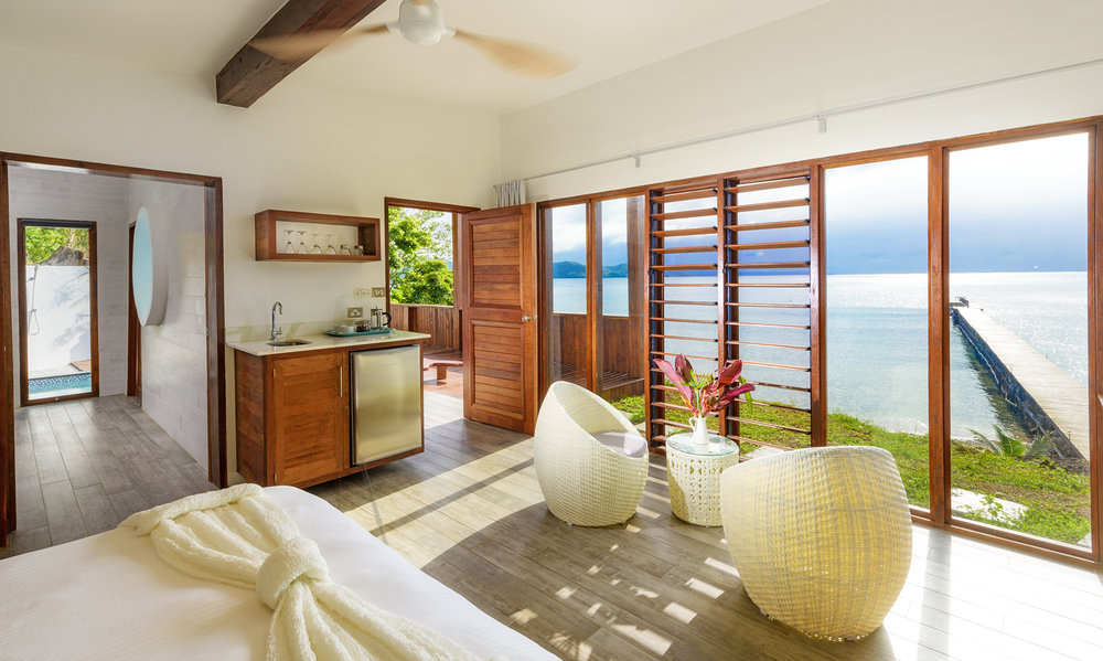 Oceanfront Retreat Bedroom
