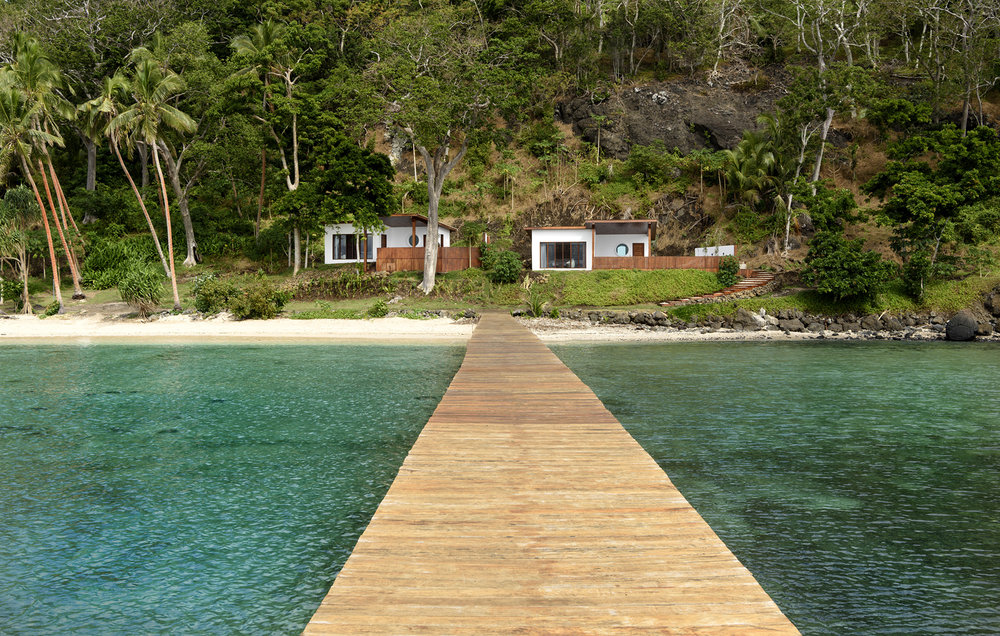 Oceanfront Retreats from the Jetty