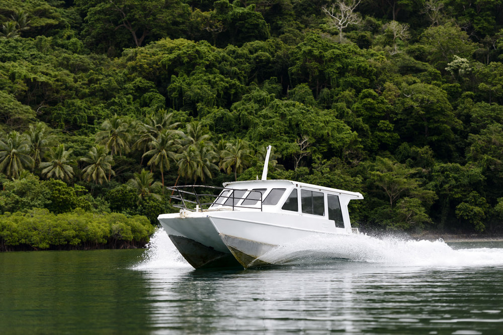 Boat transfers - Savusavu - Taveuni - The Remote Resort - Fiji Resort