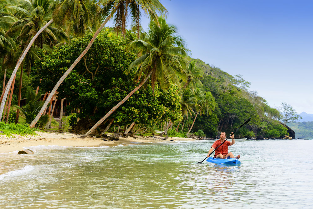 Kayaking - The Remote Resort - Fiji Resort