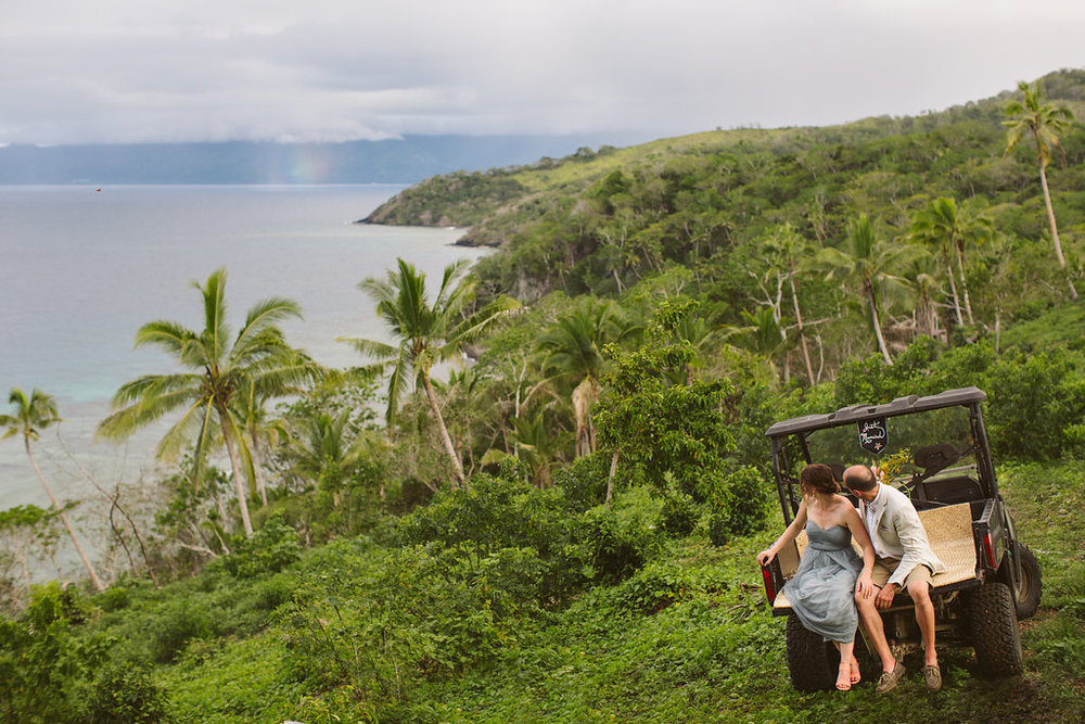 Fiji Wedding Elopement - The Remote Resort Fiji Islands - Peak