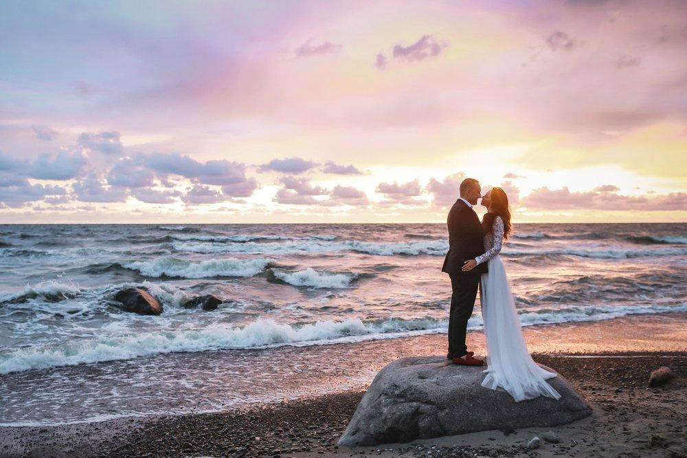 Edita & Viktoras - Beach Wedding, LithuaniaDestination Wedding