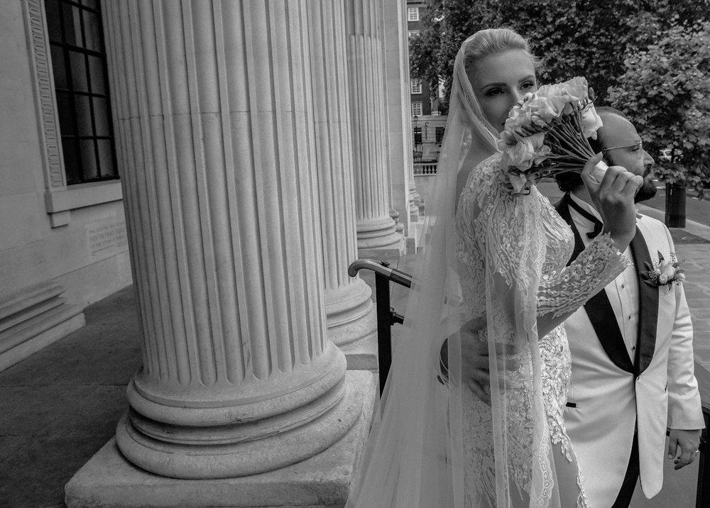 Ernesta & Ali - Landmark Hotel Wedding, London