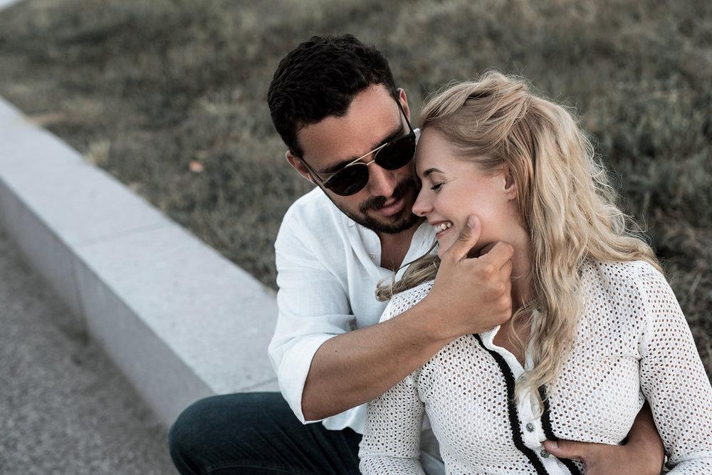 Anzelika & Joao - Portugal, Engagement shoot