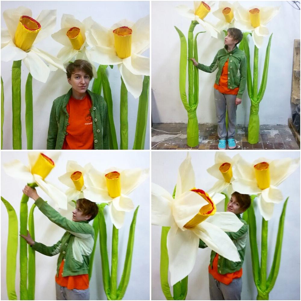 бумажные цветы мастерская Пункт М