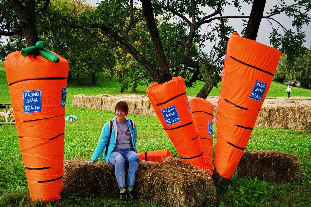 ГиперУрожайная Морковь в этом году, не правда ли?