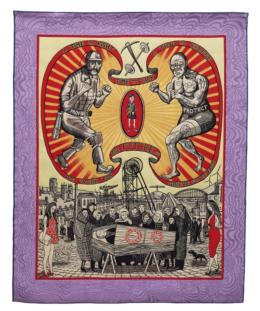 Grayson Perry, 'Death of a Working Hero', 2016.