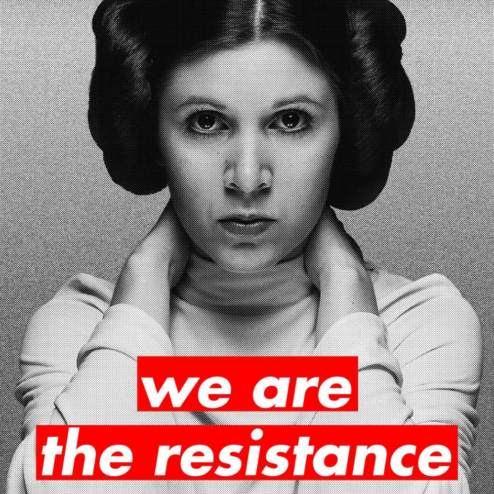 'We are the Resistance' - Vanessa Witter
