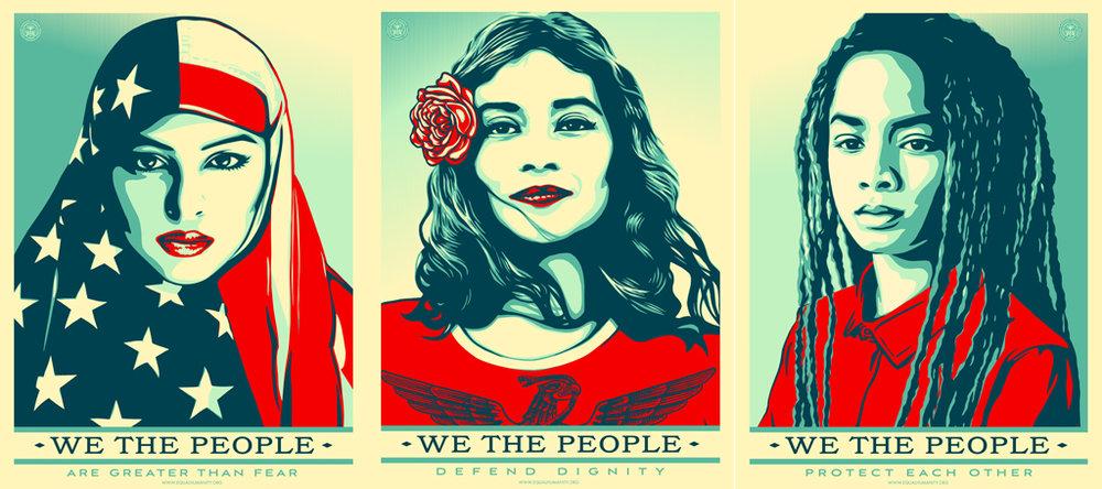 'We the People' - Shepard Fairey