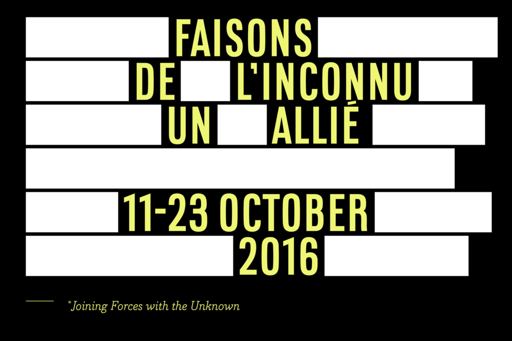 From October 11 to October 23 , 2016, Faisons de l'inconnu un allié will occupy the former Weber Métaux store, located at 16 rue Debelleyme in the Marais. The works produced—sculptures, installations, films, intermittent or ongoing performances—have been commissioned by Lafayette Anticipations, and each of them demonstrates the Fondation's commitment to its two founding missions: production and anticipation.  In line with the institution's interdisciplinary and social missions, Faisons de l'inconnu un allié brings together international creators from the fields of contemporary art, design and fashion whose work demonstrates a commitment to change, whether social or cultural, tangible or symbolic. This group presentation will be marked a series of talks and performances, and concludes the pre-opening programme begun by the Fondation in autumn 2013, while also heralding the beginning of 2018 opening of its building at 9 rue du Plâtre, renovated by architect Rem Koolhaas's agency, OMA. Featured artists: Camille Blatrix, Tyler Coburn, Mimosa Echard, Simon Fujiwara, Yngve Holen, Oliver Laric, Lucy McKenzie, Perks And Mini (P.A.M.), Slow and Steady Wins the Race, Valerie Snobeck, Cally Spooner, Studio Brynjar & Veronika, Rayyane Tabet, Anicka Yi.