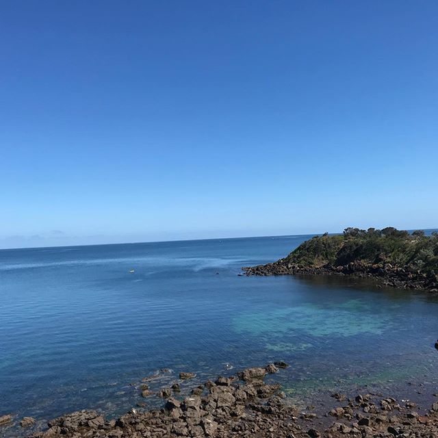 Hello SUMMER 😎🙏😎 #nofilter #coastal #ocean #freshair #morningtonpeninsula #cafeonthepeninsula