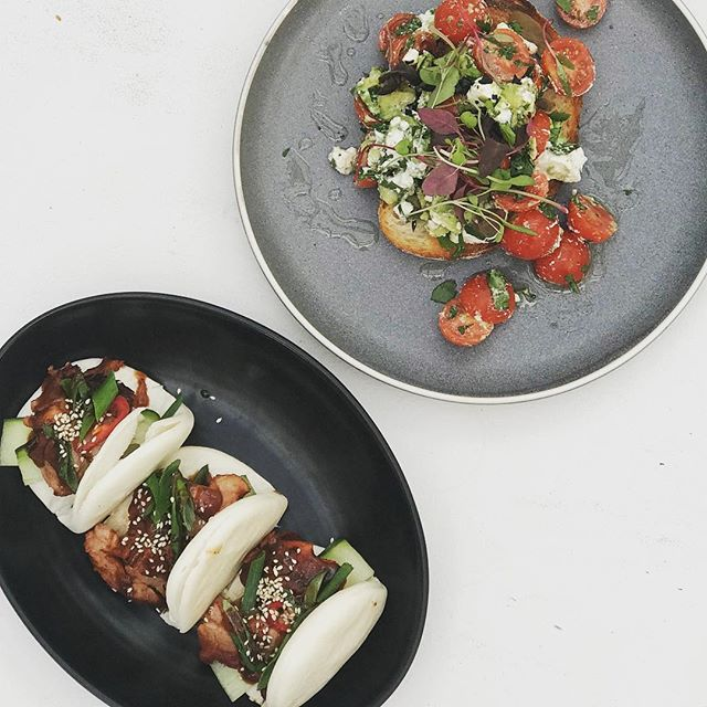 When Peking duck bao buns are on the specials, you better get in quick!!! Or if that doesn't tickle your fancy try our breakfast bruschetta #melbfoodie #delicious #cafelife #foodporn #morningtonpeninsula #summer