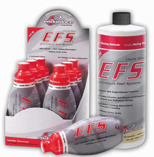 EFS Liquid Shot in Mocha flavor