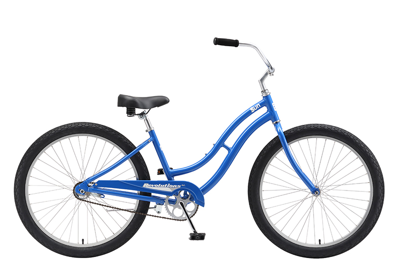 Cruiser Tradional beach style cruiser made for everyday all around use. There isn't just one style of cruiser. Everyone has their own style and you should be able to choose your own!