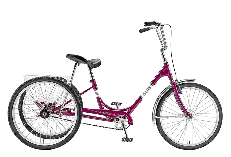 Adult Trike If you've got cycling on your mind but crave the added stability and comfort of three wheels. Then a Trike is the bike for you. Comes in made different colors and styles.