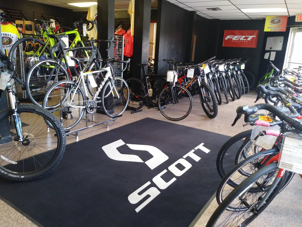 A glimpse at our showroom.