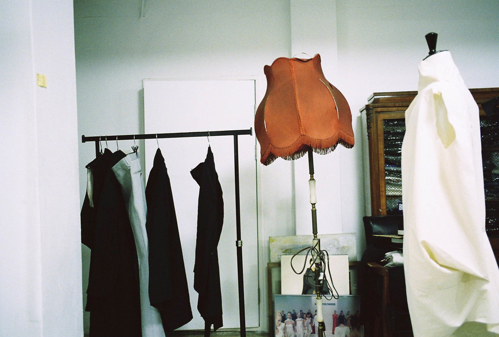 Inside the designer's atelier