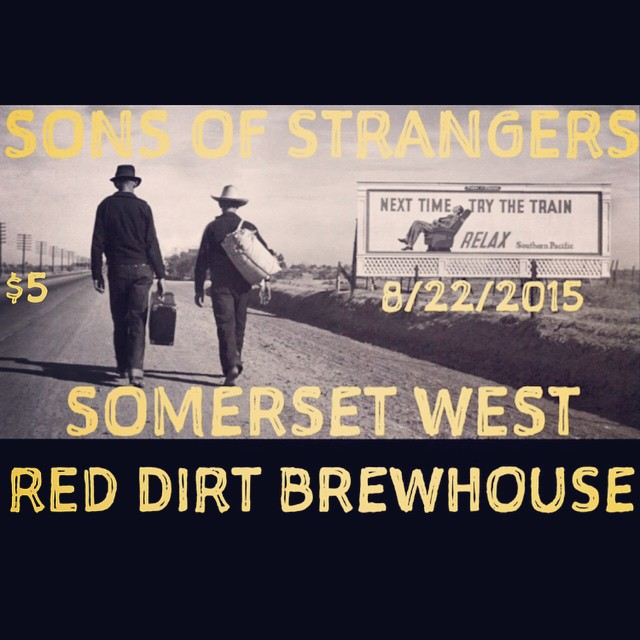 8.22.15 Ardmore Oklahoma at Red Dirt Brewhouse! Our dudes Somerset West will be joining us for this lovely evening! #Ardmore #oklahoma #okisok #oklahomamusic #oklahomavinyl