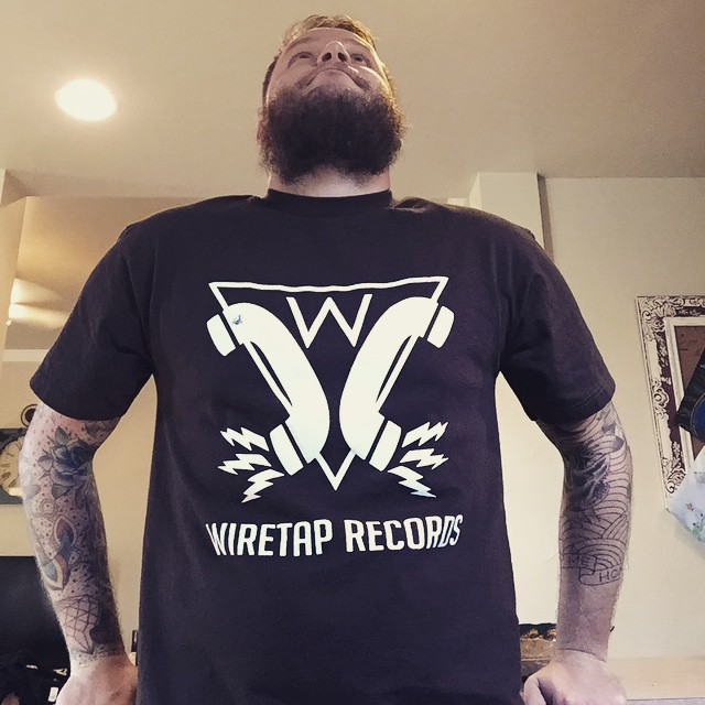Feeling so fly with my new  @wiretaprecords shirt!