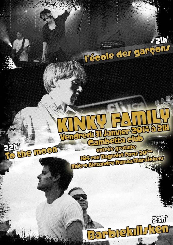 Kinky Family @ Gambetta Club, Paris
