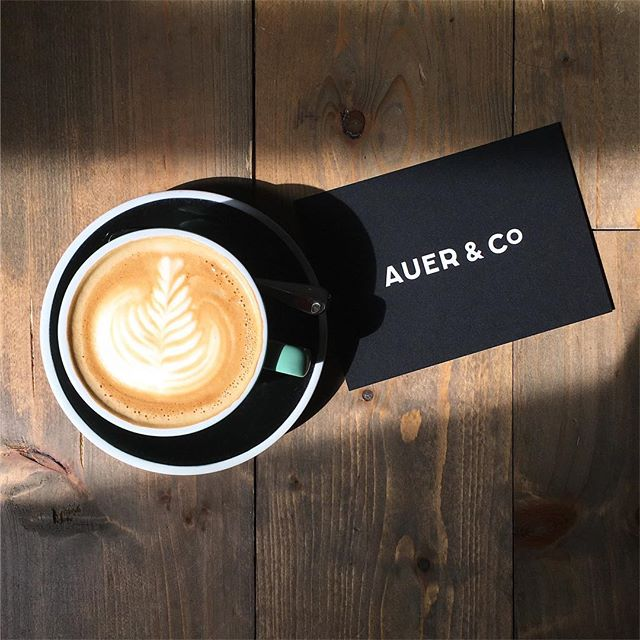 simply #coffee and #postcard #auer&co @auercoffee