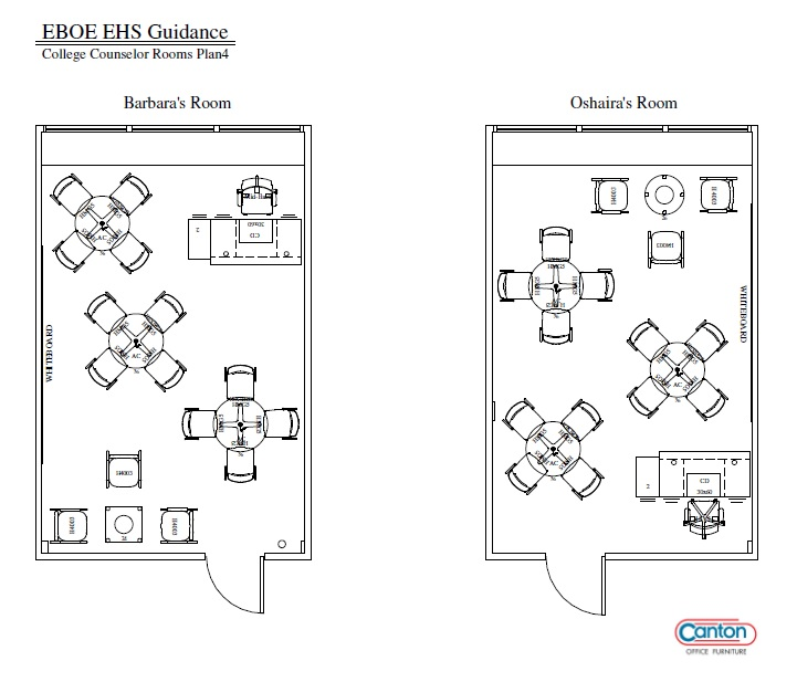 EHS College Center Layout
